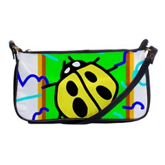 Insect Ladybug Shoulder Clutch Bags
