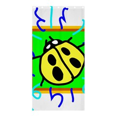 Insect Ladybug Shower Curtain 36  x 72  (Stall)