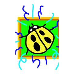 Insect Ladybug Shower Curtain 48  x 72  (Small)