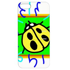 Insect Ladybug Apple iPhone 5 Hardshell Case with Stand