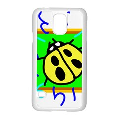 Insect Ladybug Samsung Galaxy S5 Case (White)
