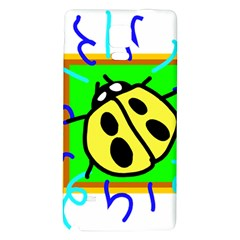 Insect Ladybug Galaxy Note 4 Back Case