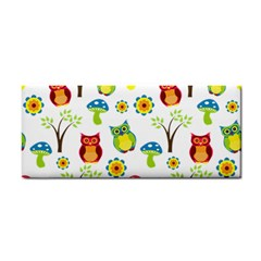 Cute Owl Wallpaper Pattern Cosmetic Storage Cases