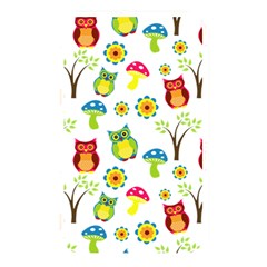 Cute Owl Wallpaper Pattern Memory Card Reader