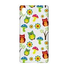 Cute Owl Wallpaper Pattern Sony Xperia Z3+