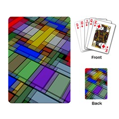 Abstract Background Pattern Playing Card