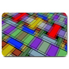 Abstract Background Pattern Large Doormat
