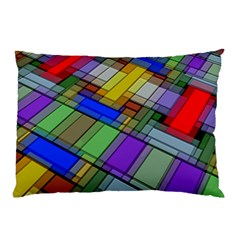 Abstract Background Pattern Pillow Case