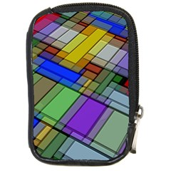 Abstract Background Pattern Compact Camera Cases