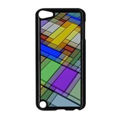 Abstract Background Pattern Apple iPod Touch 5 Case (Black)