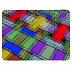 Abstract Background Pattern Samsung Galaxy Tab 7  P1000 Flip Case