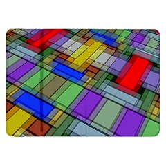 Abstract Background Pattern Samsung Galaxy Tab 8.9  P7300 Flip Case