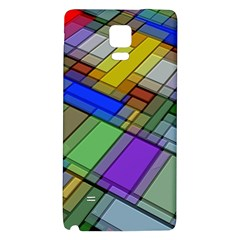 Abstract Background Pattern Galaxy Note 4 Back Case