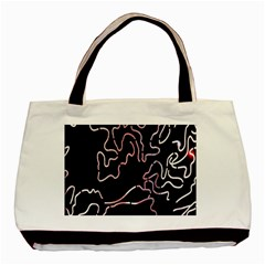 Abstract Glare Visual Art Basic Tote Bag