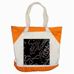 Abstract Glare Visual Art Accent Tote Bag