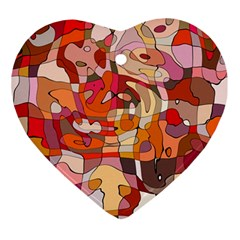 Abstract Abstraction Pattern Modern Ornament (Heart)