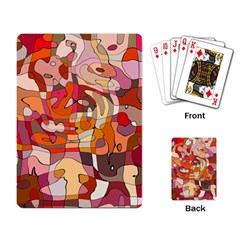 Abstract Abstraction Pattern Modern Playing Card