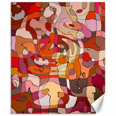 Abstract Abstraction Pattern Modern Canvas 8  x 10