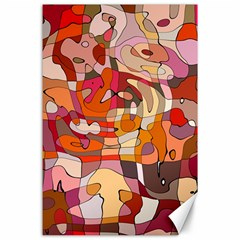Abstract Abstraction Pattern Modern Canvas 24  x 36