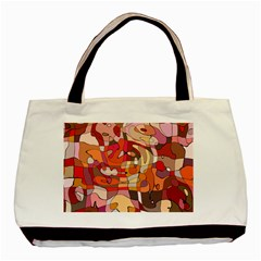 Abstract Abstraction Pattern Modern Basic Tote Bag (Two Sides)