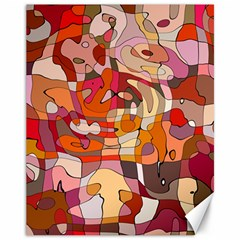 Abstract Abstraction Pattern Modern Canvas 11  x 14