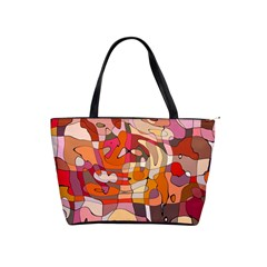 Abstract Abstraction Pattern Modern Shoulder Handbags