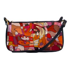 Abstract Abstraction Pattern Modern Shoulder Clutch Bags