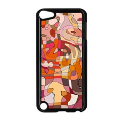 Abstract Abstraction Pattern Modern Apple iPod Touch 5 Case (Black)