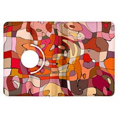 Abstract Abstraction Pattern Modern Kindle Fire HDX Flip 360 Case