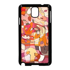 Abstract Abstraction Pattern Modern Samsung Galaxy Note 3 Neo Hardshell Case (Black)