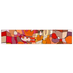Abstract Abstraction Pattern Modern Flano Scarf (Small)