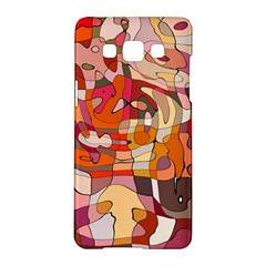 Abstract Abstraction Pattern Modern Samsung Galaxy A5 Hardshell Case