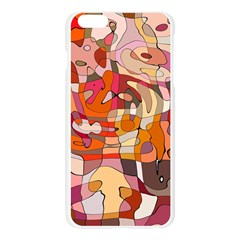 Abstract Abstraction Pattern Modern Apple Seamless iPhone 6 Plus/6S Plus Case (Transparent)