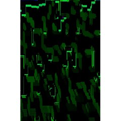 Abstract Art Background Green 5.5  x 8.5  Notebooks