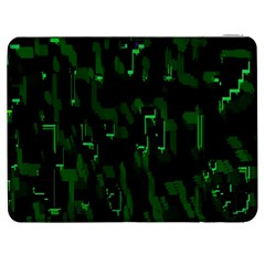 Abstract Art Background Green Samsung Galaxy Tab 7  P1000 Flip Case