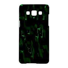 Abstract Art Background Green Samsung Galaxy A5 Hardshell Case