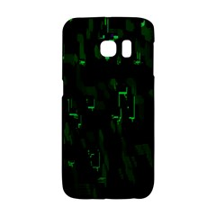 Abstract Art Background Green Galaxy S6 Edge