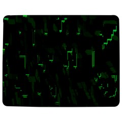 Abstract Art Background Green Jigsaw Puzzle Photo Stand (Rectangular)