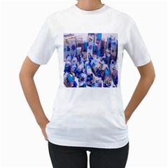 Advent Calendar Gifts Women s T-Shirt (White) (Two Sided)