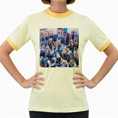 Advent Calendar Gifts Women s Fitted Ringer T-Shirts