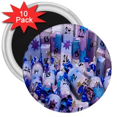Advent Calendar Gifts 3  Magnets (10 pack)