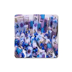 Advent Calendar Gifts Square Magnet