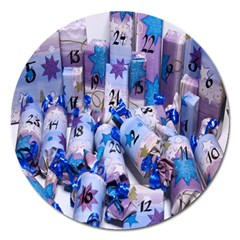 Advent Calendar Gifts Magnet 5  (Round)