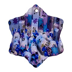 Advent Calendar Gifts Snowflake Ornament (Two Sides)