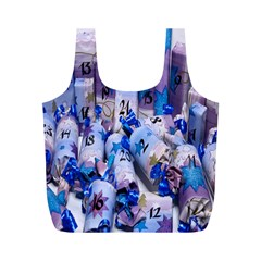 Advent Calendar Gifts Full Print Recycle Bags (M)