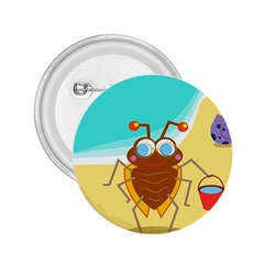 Animal Nature Cartoon Bug Insect 2.25  Buttons
