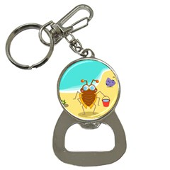 Animal Nature Cartoon Bug Insect Button Necklaces