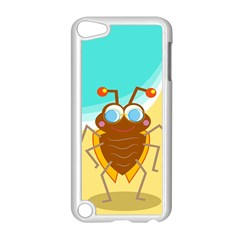 Animal Nature Cartoon Bug Insect Apple iPod Touch 5 Case (White)
