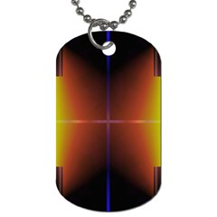 Abstract Painting Dog Tag (Two Sides)