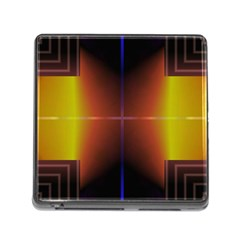 Abstract Painting Memory Card Reader (Square)